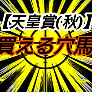 買える穴馬【天皇賞(秋)】