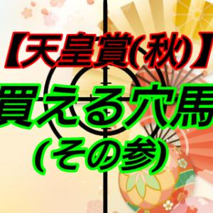買える穴馬3【天皇賞(秋)】