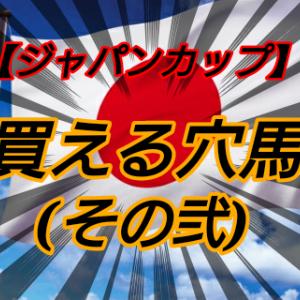買える穴馬2【ジャパンカップ】