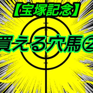 買える穴馬2【宝塚記念】