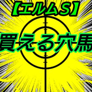 買える穴馬【エルムS】