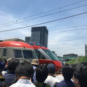 小田急ファミリー鉄道展2019に行って、ロマンスカーいっぱい