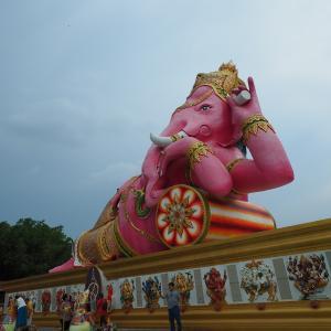 ピンクの象に会いに行く