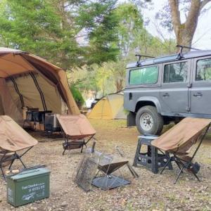 年末のキャンプレポート