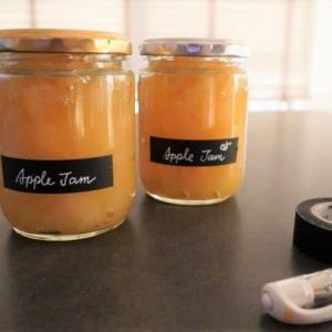 りんごジャム作り