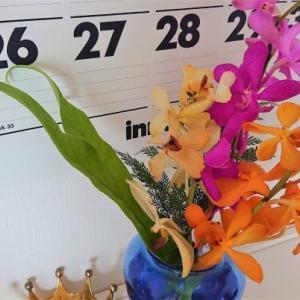 今週のお花はトロピカル