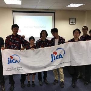 JICA海外協力隊の活動紹介 中間報告会について