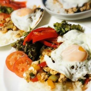 【レシピ】簡単美味しい わが家流ガパオライスの作り方