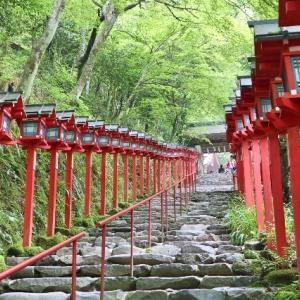 【京都・貴船】京都旅行記⑧日本有数のパワースポットで絵になる貴船神社 京都の魔界その2