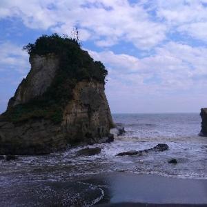 【千葉・いすみ市岬町】雀島は写真で見るよりずっと大きかった