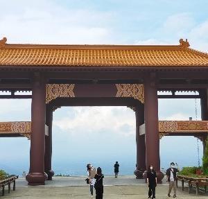【群馬】伊香保温泉旅行記〔3〕台湾旅行気分が味わえる?SNS映えの佛光山法水寺