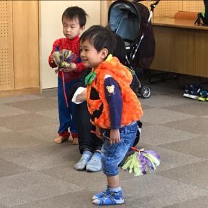 【英語リトミック】ハロウィンパーティーしました