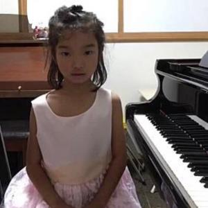 グレンツェンピアノコンクール予選で銅賞