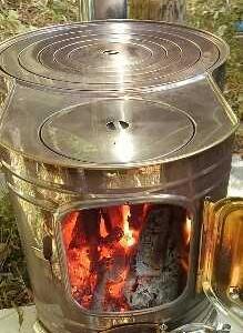 キャンプ・アウトドアに絶対欲しい!ホンマ製時計1型薪ストーブ