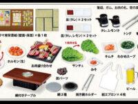 【可動フィギュア用に】ぷちサンプル新作「今日は焼肉!じゅうじゅう苑」発売決定!
