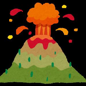 ポポカテペトル山噴火