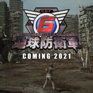 最新作『地球防衛軍6』PS4/Switchで2021年発売決定!ティザーサイトがオープン、スクリーンショットも公開!