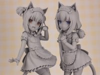 【ネコぱら】プラム「ショコラ」「バニラ」Pretty kitty Style フィギュア 原型公開!インナーウェアボディが付属決定