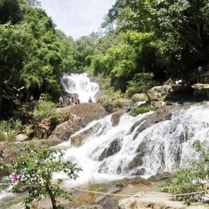 【ダラット】山の中でのんびり。観光名所「ダタンラの滝」