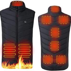 【電熱ベスト&パンツインプレ】着る電気毛布は真冬の釣り・バイク・スポーツ・アウトドアに