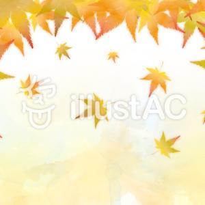 フリーイラスト素材:秋イラスト・3、4