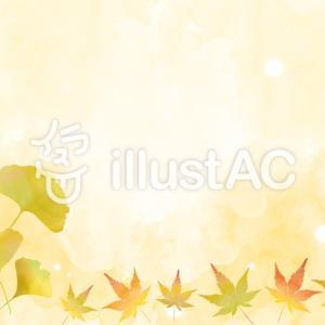 フリーイラスト素材:秋イラスト・7、8