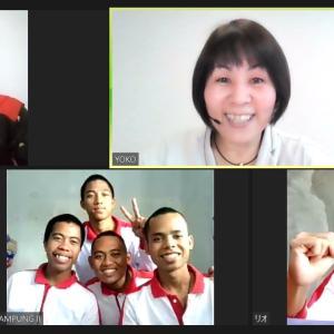 日本語教育と日本ビジネスマナーの融合★@インドネシア
