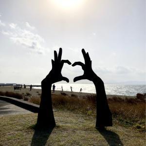 大隅半島 錦江湾をサイクリング