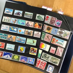 ステイホームで切手整理しましたよ