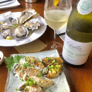 令和元年 最初のディナーは牡蠣  なのです