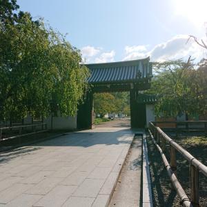 醍醐寺到着