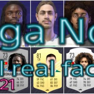 FIFA21 ポルトガルリーグ固有フェイスまとめ/Liga NOS all real faces