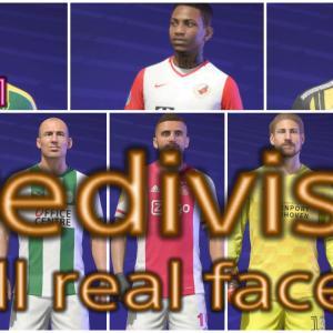 FIFA21 エールディヴィジ固有フェイスまとめ/Eredivisie all real faces