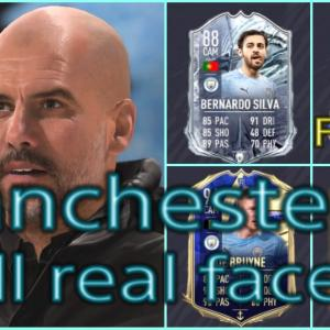 FIFA21 マンチェスターC固有フェイスまとめ/Manchester City all real faces