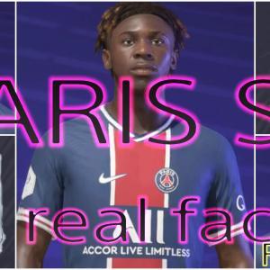 FIFA21 パリサンジェルマン固有フェイスまとめ/PARIS SAINT-GERMAN all real faces