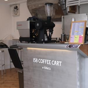 『158 COFFEE CART BY 158&Co.』でChill Time