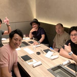 『焼肉うしごろ 新宿三丁目店』でトガッチ会