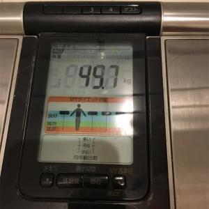 49.7キロ キター・:*+.\(( °ω° ))/.:+