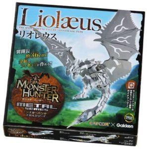 【雑談】リオレウスのメタル工作フィギュアを買いました(・∀・)