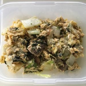 優しい味で胃腸に優しい!いわしと白菜の卵とじ