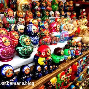 【旅日記10日目その①】モスクワ|ノヴォデヴィチ女子修道院から映えスポット満載ヴェルニサージュ市場