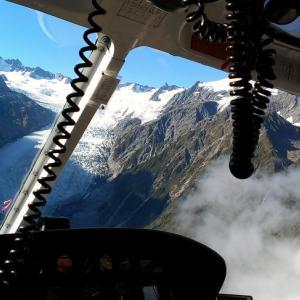 海外ツーリング-ニュージーランド編 番外2 / フォックス・グレイシャーのヘリコプターツアー