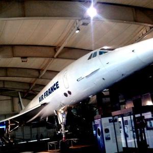 海外ツーリング-フランス編 3 / コンコルドに乗れるル・ブルジェ航空宇宙博物館とゴッホが晩年過ごしたオーヴェル・シュル・オワーズそばの美味しいレストラン