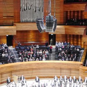 屹立するラジオ・フランスの新コンサートホールと散策が楽しいホール周辺事情 / パリ オーディトリアム 見学記