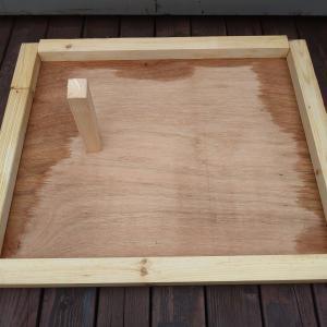 石窯製作(その8:蓋とテーブル)