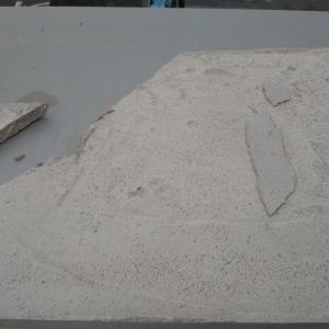 石窯製作(その9:蓋の破損)
