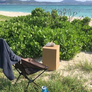 ダンボール燻製器の作りかた。沖縄の海へいって燻製してみる