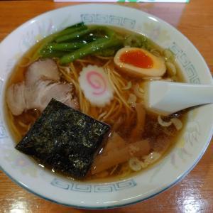 石川県志賀町高浜町にあるラーメン和で、ラーメン+チャーハン(並)のAセット。