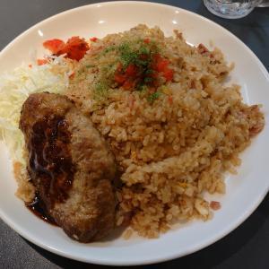 白山市幸明町にある昔ながらの洋食屋さん。キッチンユキ松任本店で、ハンバーグベーキライスのジャンボ。