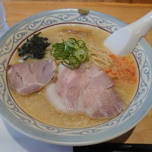 金沢市玉鉾にある自家製麺のぼるで、京しおとチャーシュー丼。
